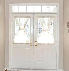Half Window Curtains Front Door Window Curtain Front Door Blinds Inside Window Image