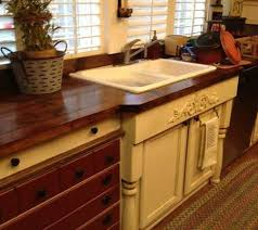 Mobile Home Kitchen Makeover - old world manufactured home kitchen remodel counter top dresser