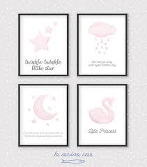 poster chambre fille affiche papillon aquarelle imprimable poster citation
