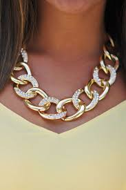 gold necklace chunky chain images Home my utterly unique style pinterest jewelry jewelry jpg