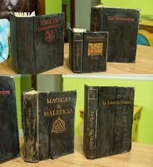 mad scientist halloween props how to old witchcraft books hauntforum steampunk diy