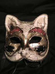 authentic venetian masks harlequin cat mask for the of masks cat mask