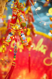 Decorations For Vietnamese New Year by Ho Chi Minh City Vietnam Travel Photography