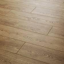 3 Strip Laminate Flooring Quattro 8 Abbey Oak Laminate Laminate Carpetright