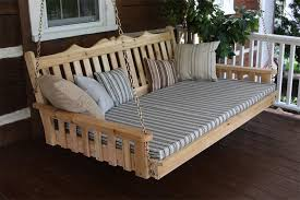 cedar royal english swing bed by dutchcrafters amish furniture