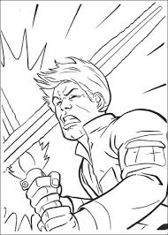 luke skywalker lightsaber fight coloring page free printable