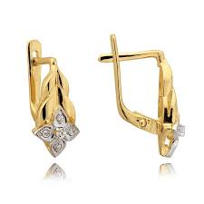 gold back earrings 36 best latch back earrings at all things gold images on
