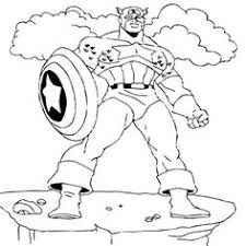 captain america coloring pages kids coloring pages