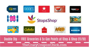 gas gift card deals hot dip with gift card purchases at stop shop 11 10