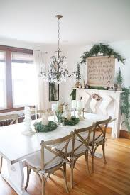 best 25 christmas dining rooms ideas on pinterest gold amazing farmhouse christmas dining room decorating