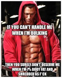 Bulking Memes - ryan hughes bulking meme gym motivation quotes shredded fit go