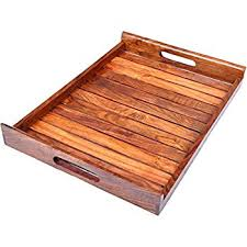 wooden serving tray indian rosewood sheesham handmade hashcart indian rosewood sheesham wood handmade