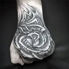 80 money rose tattoo designs for men cool currency ink
