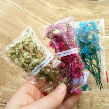 3 bag cute mini dried flower crystal flower can fill in the glass