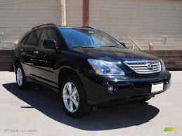 lexus rx 400h hybrid 2005 2008 black onyx lexus rx 400h awd hybrid 33987446 gtcarlot com