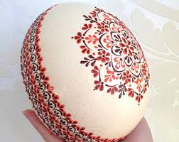 German Easter Egg Decorations by Easter Eggs Etsy