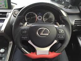 lexus is300 steering wheel new product dctms steering wheel upgrade for nx clublexus