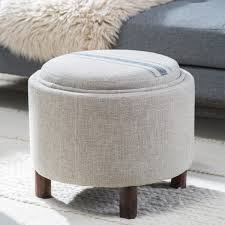 White Round Ottoman by Furniture Unique Design Of Pier One Ottoman For Your Lovely