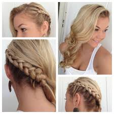 easy braid styles easy french braid hairstyles for long hair