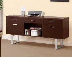 cappuccino credenza co522 office filing cabinets pedestals and