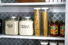 how to organize and spruce up your pantry