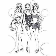 50 free printable barbie coloring pages