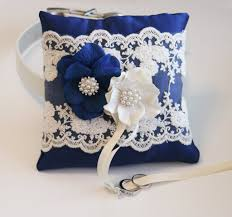 dog ring bearer pillow royal blue ring pillow dog ring bearer pillow ring pillow