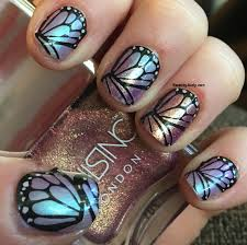how i wore nails inc sparkle like a unicorn nail polish kit
