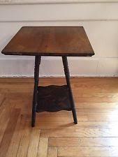 antique spindle leg side table victorian antique tables 1900 1950 ebay