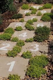 fun idea for the kids a hopscotch garden great garden ideas