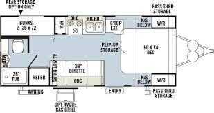 30 Ft Travel Trailer Floor Plans Denver Rv Rent Large Travel Trailer