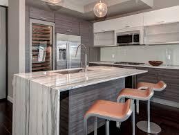 Gray Stone Backsplash by Unique Modern Kitchen Stone Backsplash Tile Contrasts W The