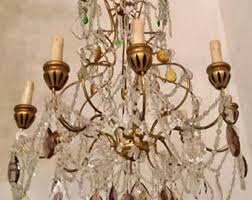 Beaded Chandelier Etsy Beaded Chandelier Etsy