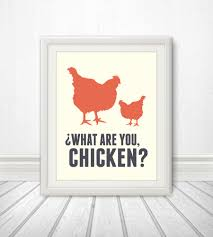 Nerd Home Decor What Are You Chicken Nerd Nerd Art Geek Kitchen Sign