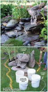 Diy Patio Fountain Best 25 Diy Fountain Ideas On Pinterest Diy Waterfall Backyard