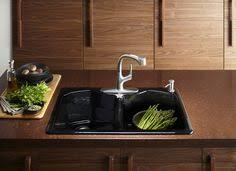 kohler elate kitchen faucet kohler karbon faucet and stages 45 mount sink