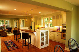 awesome kitchen living room open floor plan design affordable open concept home floor plans white kitchen wells with