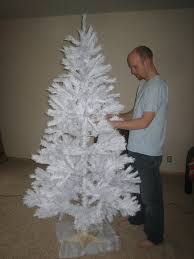 twinkle light christmas tree walmart retro christmas trees one white one pink and starburst wrapping