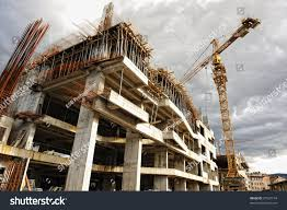 construction site crane building stock photo 67527154 shutterstock