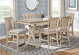 nantucket breeze white 5 pc counter height dining room dining