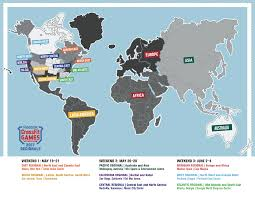 Where Is Germany On The Map by 2017 Reebok Crossfit Games Season Schedule