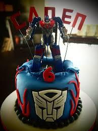 transformer birthday cake optimus prime transformer birthday cake by olive of
