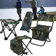 Folding Chair Backpack 2 In 1 Folding Fishing Stool Backpack Seat Chair Hunting Tear