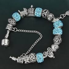 european bead charm bracelet images Rhinestone european beads charm bracelets selamkollection jpg
