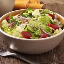 id cuisine simple id rather a simple garden salad but with an outstanding