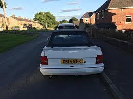 ford escort xr3i cabriolet mk4 1 6 efi in consett county durham
