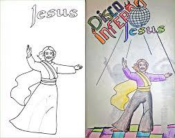 jesus coloring book corruptions
