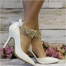 fashion ankle bracelet images Anna wedding ankle bracelet wedding jewelry bridal shoe jpg