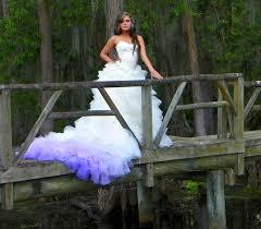 ombré wedding dress ombre wedding dress on onewed
