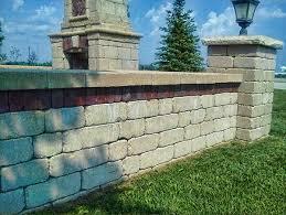 Unilock Walls Grayslake Unilock Walls Paver Design Brick Wall Installation